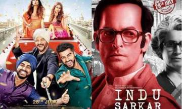 'Mubarakan' witnesses weekend growth at box office, 'Indu Sarkar' fails to impress audience