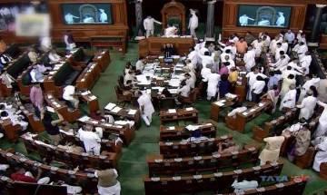 TMC MPs create ruckus in Lok Sabha after BJP MP Kirit Somaiya's allegation