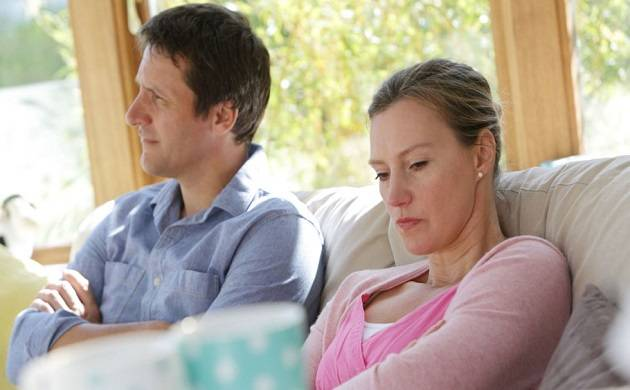 Many UK adults are putting up in relationships just to buy a house (File photo)