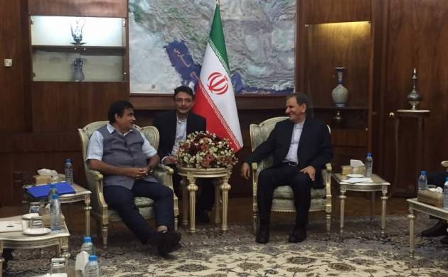 Iran: Chabahar Port a gateway to golden opportunities, says Gadkari at Rouhani's swearing in ceremony (Image: Twitter)