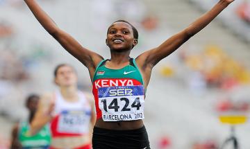 IAAF World Athletics Championships: Kenya's Faith Kipyegon clinches women's 1500 m gold, Jamaica's Omar McLeod wins 110 m hurdles