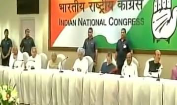 Congress Working Committee: Sonia, Manmohan attack BJP over demonetization, GST