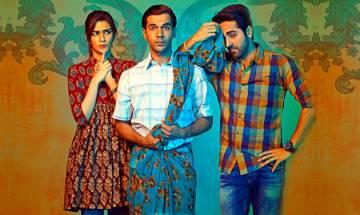 Bareilly Ki Barfi poster shows Rajkummar Rao in a saree, and he sure looks super cute