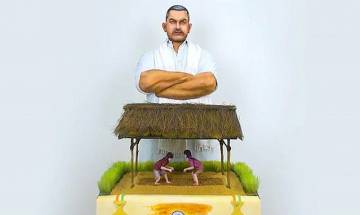 70th Independence Day: 54 kg 'Dangal Cake' by Dubai's Broadway Bakery to pay tribute to India | Watch Video