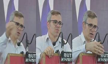 Omar Abdullah attacks BJP, says the party has made Article 35A a case of Jammu vs Kashmir