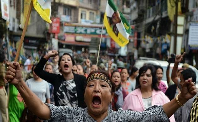 Gorkhaland activists end their hunger strike. (Representative Image/File Photo)