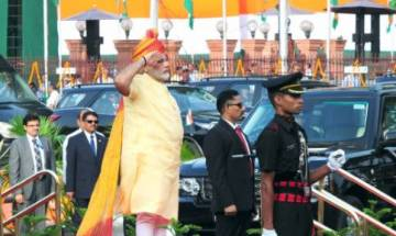 PM Modi speaks for 56 minutes, his shortest Independence Day speech in four years