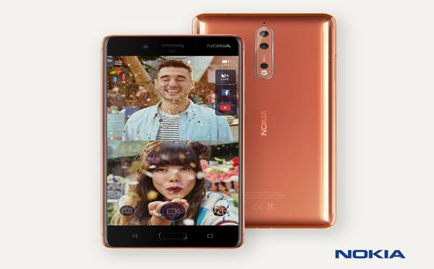 Nokia 8 smartphone (Twitter Image)