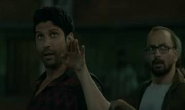 'Lucknow Central' New Song: Farhan Akhtar launches 'Teen Kabootar' at Yerwada Central Jail