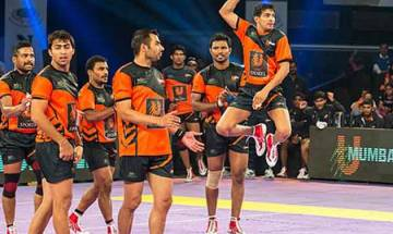 Pro Kabaddi League 2017: U Mumba edge out UP Yoddha 37-34 in thrilling match
