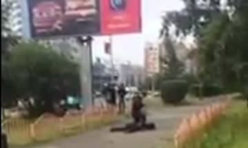 Days after Spain and Finland attack, Knife attacker wounds 8 in Russian city, shot by police