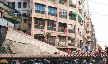 Noida: 1 killed, 13 injured as under-construction stadium collapses at Mayoor School