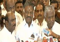 AIADMK merger confirmed, Panneerselvam hints at forthcoming 'good news'