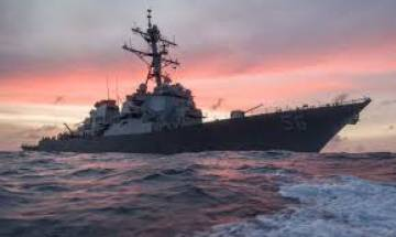 US Navy announces pause worldwide operations after warship damaged, 10 sailors missing
