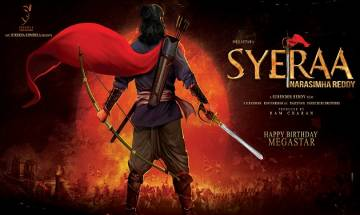 Sye Raa Narasimha Reddy motion posters released on Chiranjeevi's 62nd birthday