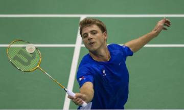 BWF World Championships: Brice Leverdez stuns second seed Lee Chong Wei in three-game marathon