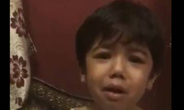 Toshi Sabri says crying girl in viral video is his niece, video not meant for public circulation