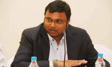 Karti Chidambaram appears before CBI in connection with corruption case