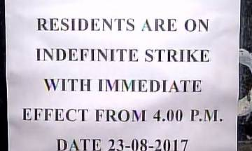 Delhi: Safdarjung Hospital doctors on indefinite strike, claims manhandled by patient; demand for security
