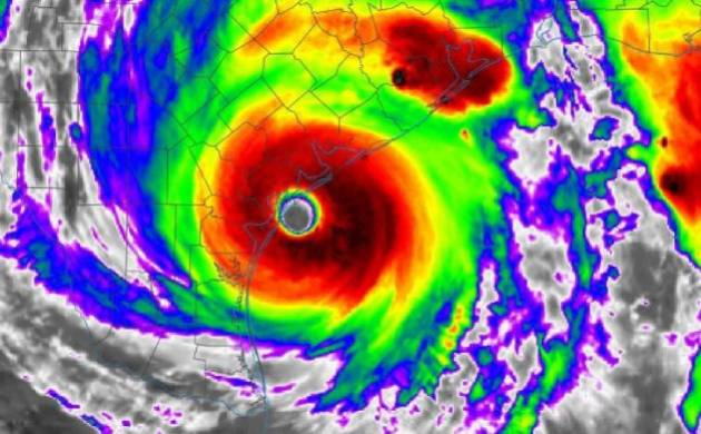 US: Tropical mega-storm Harvey upgraded to Category 4, Texas begins evacuation (Source: Twitter)