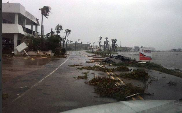 United States: Hurricane Harvey strikes central Texas, leaves three people dead (Picture credits- Twitter)