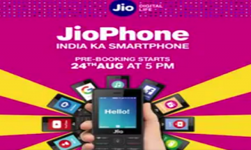 Reliance Jio Phone: Pre-booking of 4G Phone suspends after millions of user booked online