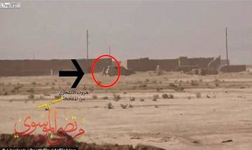 Iraq: ISIS suicide bomber abandons 'mission' after coming under fire, watch the video