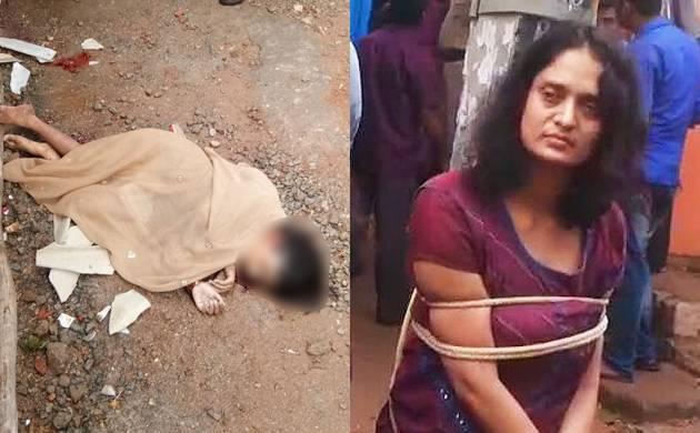 Puttenahalli police arrived at the spot and took Swathi into custody (News Nation)
