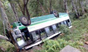 Himachal Pradesh: 2 dead, 25 injured as bus overturns in Chamba district