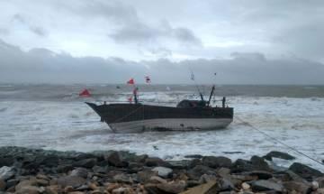 Indian Coast Guard rescues 40 fishermen off Gujarat coast