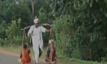 Video | Odisha's tribal man carries parents on sling to get justice, travels 40kms on foot