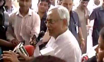 Nitish Kumar denies about any information regarding inclusion of JD(U) in cabinet