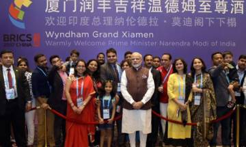 PM Modi reaches China to attend BRICS summit