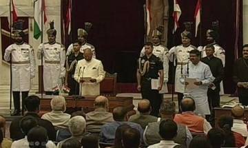 Cabinet reshuffle: Nine new ministers join Modi govt; four elevated to Cabinet ranks