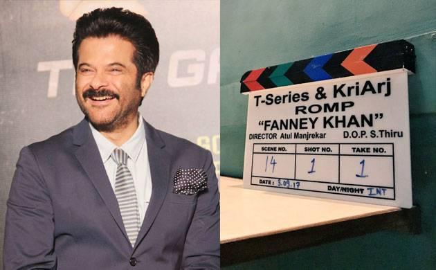 Fanney Khan: Anil Kapoor begins shooting for Aishwarya Rai-starrer