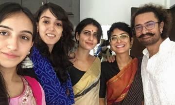 Aamir Khan celebrates Eid with onscreen daughter Fatima Sana Sheikh (see pics)