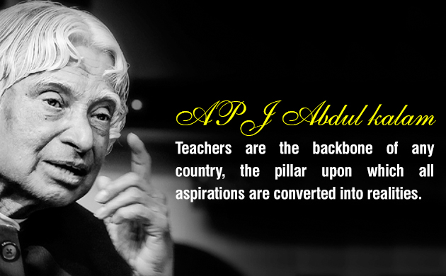 Your Best Teacher Is Your Last Mistake Apj Abdul Kalam Shhh