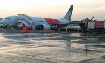 Air India aircraft from Abu Dhabi veers off taxiway at Kochi airport, all 102 passengers safe