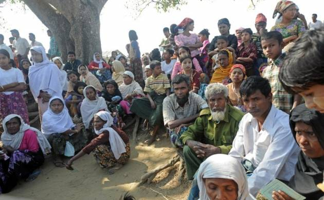 There are around 40,000 document Rohingya migrants in India (File Photo)