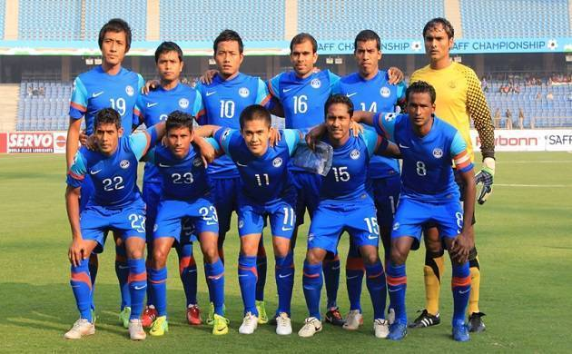 Indian National Football Team - File Photo