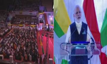 PM Modi at Yangon: Creating India free from poverty, terrorism, corruption and casteism
