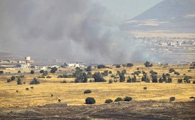 Israeli air raid on military position kills 2 people, says Syrian army. (File Photo)