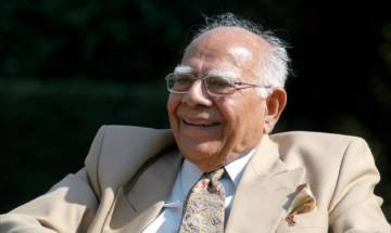 Distinguished lawyer Ram Jethmalani announces his retirement from the legal profession