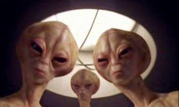 VIDEO | Three Aliens spaceship spying International Space Station caught on camera