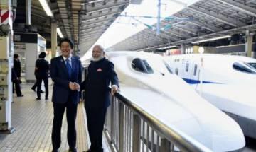 PM Narendra Modi and Japanese PM Shinzo Abe to lay bullet train foundation stone on Sept 14