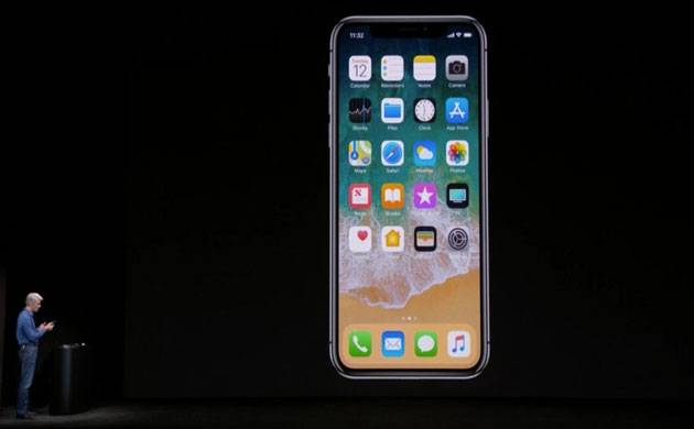 Apple CEO Tim Cook addresses crowd unveils iPhone X (Twitter Image)