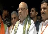 BJP prez Amit Shah asks human rights activists to report Birbhum, Barasat incidents
