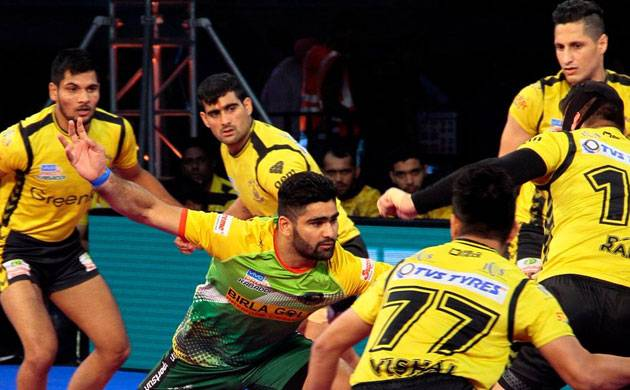Pro-Kabaddi League 2017: Patna Pirates inflict massive 46-30 defeat to Telugu Titans