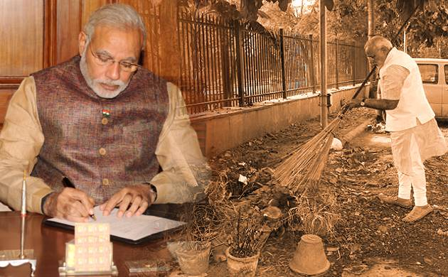 PM Modi had on October 2, 2014, picked up a broom to launch the Swachh Bharat Abhiyan (Agency)