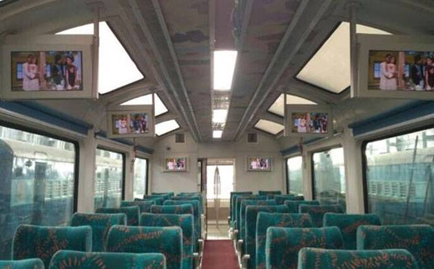 'Vistadome' train offering panoramic view launched on Mumbai-Goa route (Image: PTI)